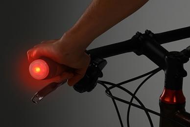 Практичные фонарики светодиодные на руль GripLit 2 шт. (красные) Nite Ize