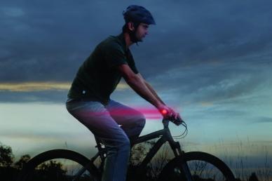 Замечательные фонарики светодиодные на руль GripLit 2 шт. (красные) Nite Ize