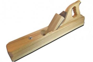 Деревянный фуганок Pinie (Чехия) с ножом шириной 60 мм