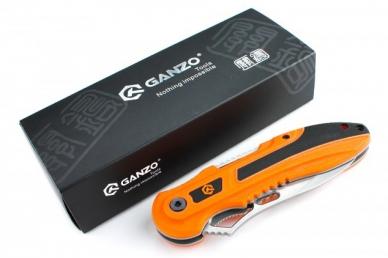 Нож складной G621 (оранжевый) Ganzo, упаковка