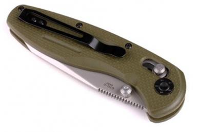 Нож G701 (зеленый, G-10) Ganzo, в сложенном виде