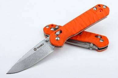 Нож G717 (оранжевый) Ganzo, КНР