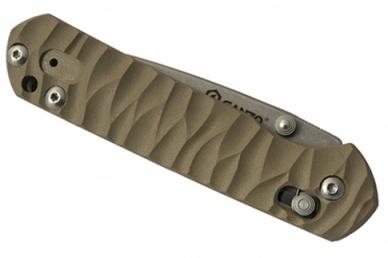 Нож складной G717 (желтый) Ganzo, в сложенном виде