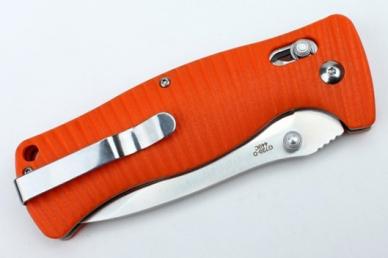 Нож складной G720 (оранжевый) Ganzo, клипса