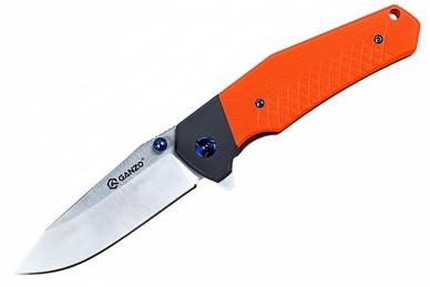 Нож складной G7491 (оранжевый) Ganzo, КНР