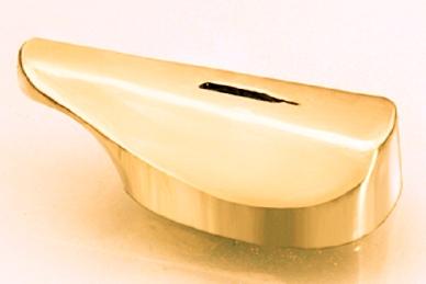 Гарда для рукояти ножа гладкая 417 (латунь)
