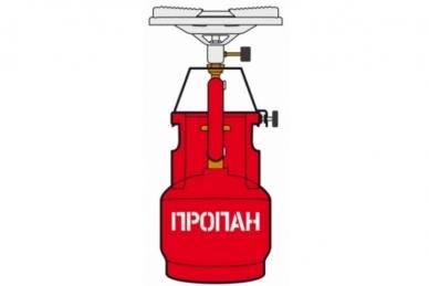 Газовая горелка NB-200 2 кВт NZ