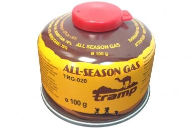 Газовый картридж (баллон) 100 грамм Tramp