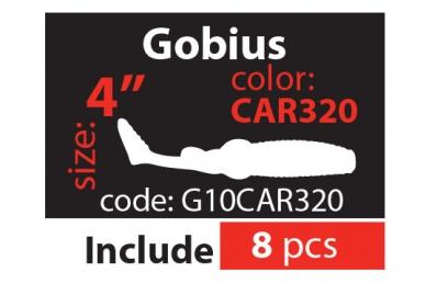 "Мягкая приманка Gobius 4"" (10,5 см) - G10CAR320"