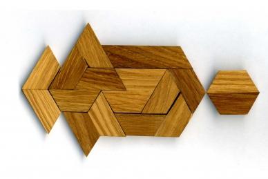 Головоломка деревянная арена