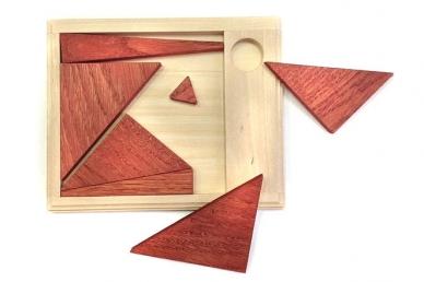 Интересная головоломка Бермудский треугольник