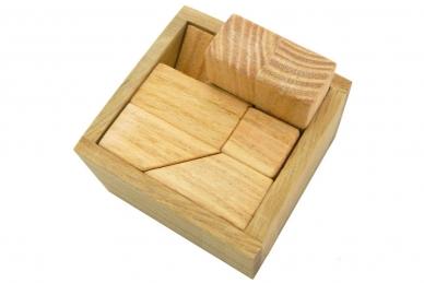 Головоломка деревянная Кирпичики