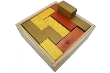 Головоломка деревянная Пентакубики