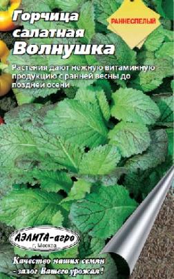 Горчица салатная «Волнушка» семена