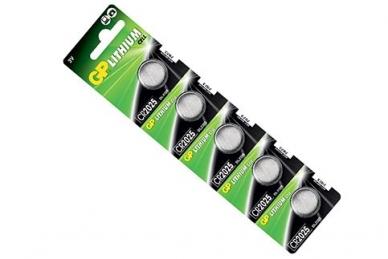 Батарейки Lithium CR2025-C5 CR2025 GP