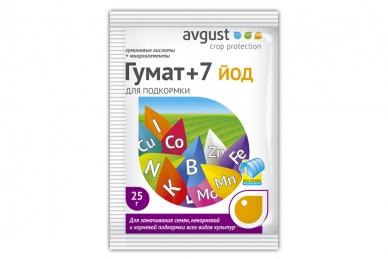 Препарат Гумат+7 йод