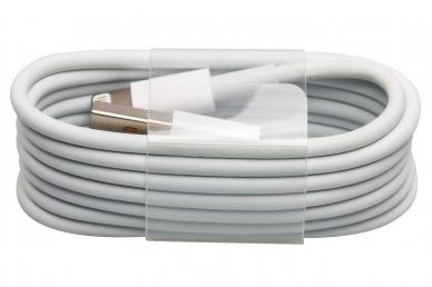 Кабель USB Lightning, 1 м серый для продукции Apple