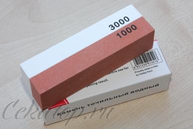 Точильный водный камень Taidea 100x25x30