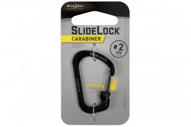 Алюминиевый карабин SlideLock #2 (black) Nite Ize