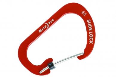 Алюминиевый карабин SlideLock #4 (red) Nite Ize