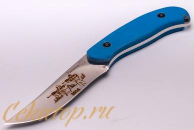 Нож «Касатка 2014 Биатлон» (синий) Кизляр, Россия