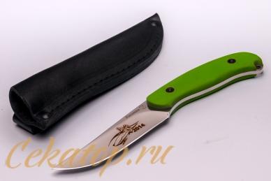 Нож «Касатка 2014 Бобслей» (зеленый) Кизляр, Россия