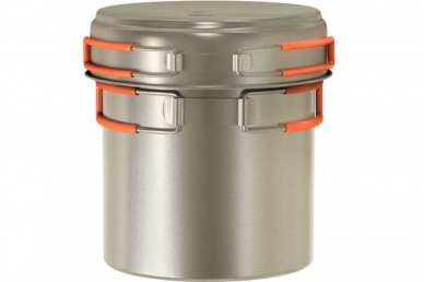 Кастрюля титановая Titanium Cookware 1200 ml TS-013 NZ, Россия