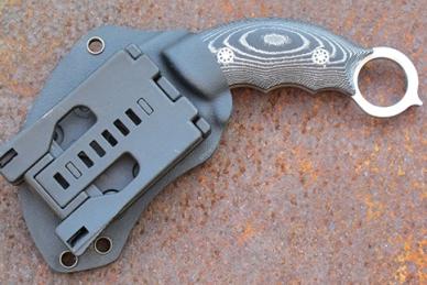 Нож «Скорпион» Steelclaw в ножнах