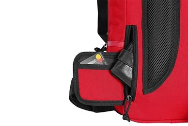 Городской рюкзак Kiwidition Tawaho City 15 (RC красно-черный)
