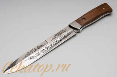 """Нож """"Егерский"""" (клинок с узором) Кизляр, Россия"""