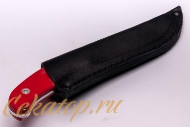Нож «Касатка 2014 Биатлон» (красный)