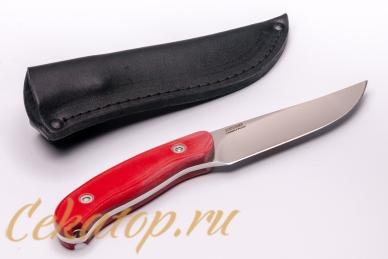 Нож «Касатка 2014 Прыжки на лыжах» (красный) Кизляр