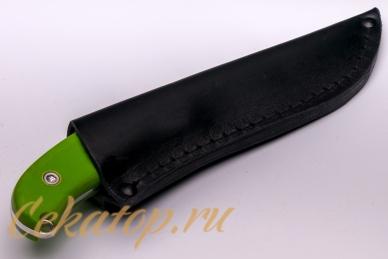 Нож «Касатка 2014 Прыжки на лыжах» (зеленый) Кизляр