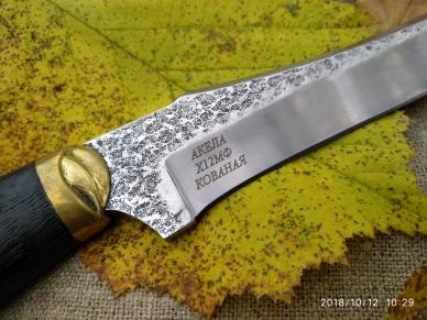Клинок ножа Акела из стали Х12МФ