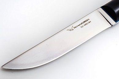"""Клинок ножа """"Лидер М"""" (сталь 440C) Ясный Сокол"""