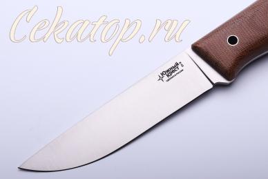 Клинок ножа Тундра М «клин от обуха» (D2, микарта) Южный Крест