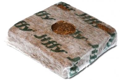 Экологичный кокосовый брикет Jiffy Growblock 90*90 мм