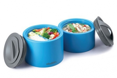 Контейнеры Bento Lunch Box 0,95 л (синий) Aladdin
