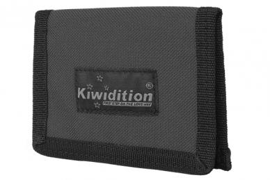 Кошелек Pahi Light с RFID защитой (Dark Grey) Kiwidition