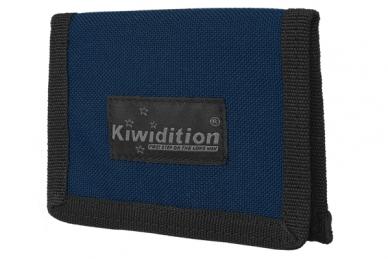 Кошелек Pahi Light с RFID защитой (DNB сине-черный) Kiwidition