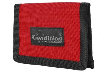 Кошелек Pahi Light с RFID защитой (RC красно-черный) Kiwidition