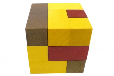 Головоломка из дерева Кубики для всех