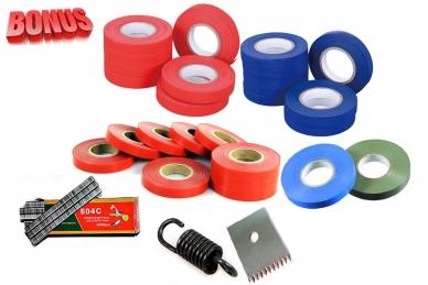 Ленты для тапенера Tapetool BZ-3 (40 шт.), комплект скоб и комплект запчастей