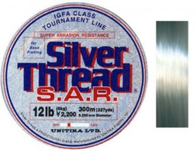 Леска Silver Thread S.A.R. 0.41, Unitika