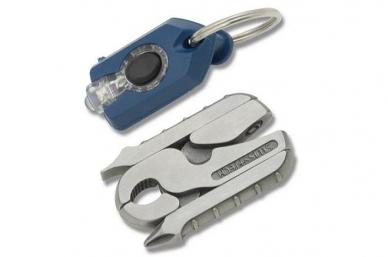 Микро набор инструментов Micro-Pro XL900 9 в 1 Swiss+Tech, сложенный