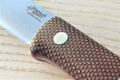Микарта с оружейной на ножах Южный Крест