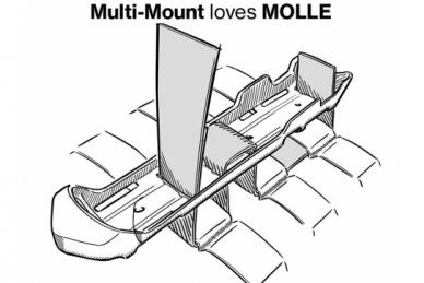 Нож Kansbol с системой Molle