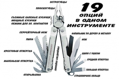 Мультитул Leatherman SuperTool 300