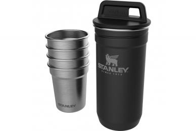 Набор Adventure Matte Black (стопки и стакан) Stanley, США