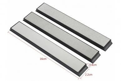 Набор алмазных брусков (#240, 600, 1000) DMD Tools